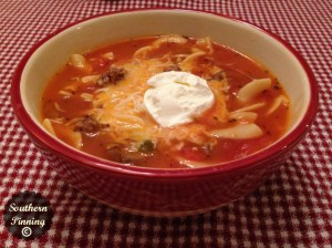 Quick Goulash Soup